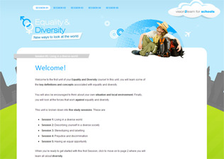 Equality and Diversity screenshot
