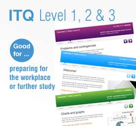 Level 1, 2 and 3 Essential IT Skills
