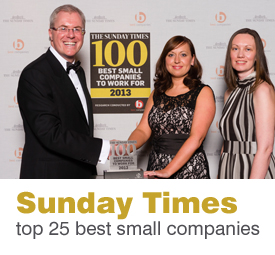 Sunday Times top 25 best small companies