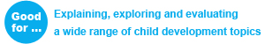 GCSE Child Development - Good for: Explaining, exploring and evaluating a wide range of child development topics