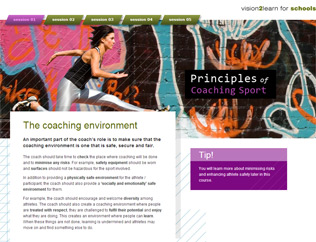Coaching Sport screenshot