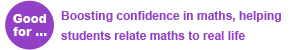 Functional Skills Maths - Good for: Boosting confidence in maths, helping students relate maths to real life